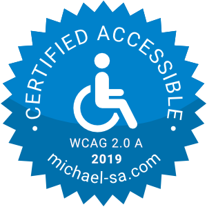 Accesible to people with disabilities